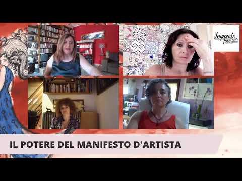Il Potere del manifesto d'Artista con Rebecca LISOTTA, Emanuela ORCIARI e Paola GENNARI