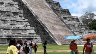 Змей спускается с небес, Чичен Ица.  Мексика(Чичен Ица., 2012-09-11T17:02:11.000Z)