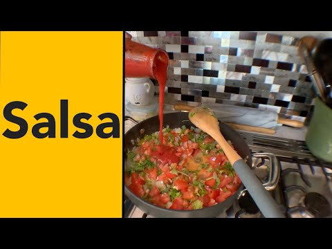 How to make the best salsa cooked easy clean vegan gluten free sugar free