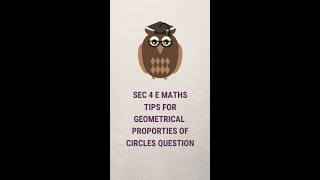 A 5 Min Concept Initiative by EduZ Tuition- Tips for geometrical properties. Upper Sec E Maths.