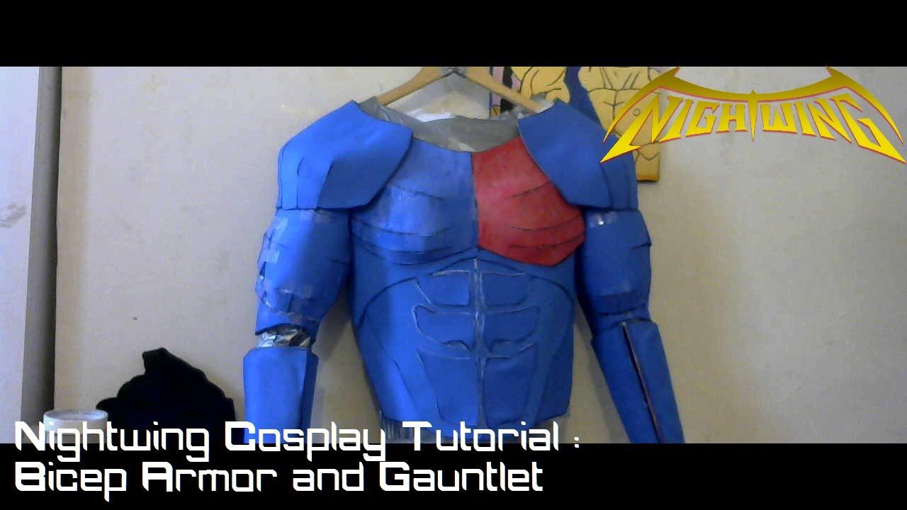 Nightwing cosplay gauntlets Lya88ifYYz