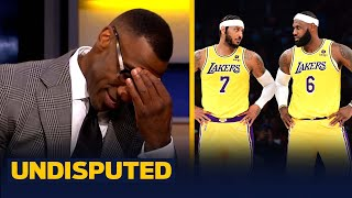 """Lakers new Big 3 looked like a """"fire drill"""" in loss to Warriors — Skip & Shannon 