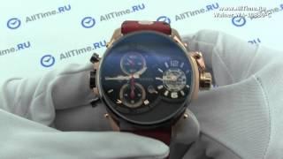 Обзор. Мужские наручные часы Wainer WA.10880-C с хронографом