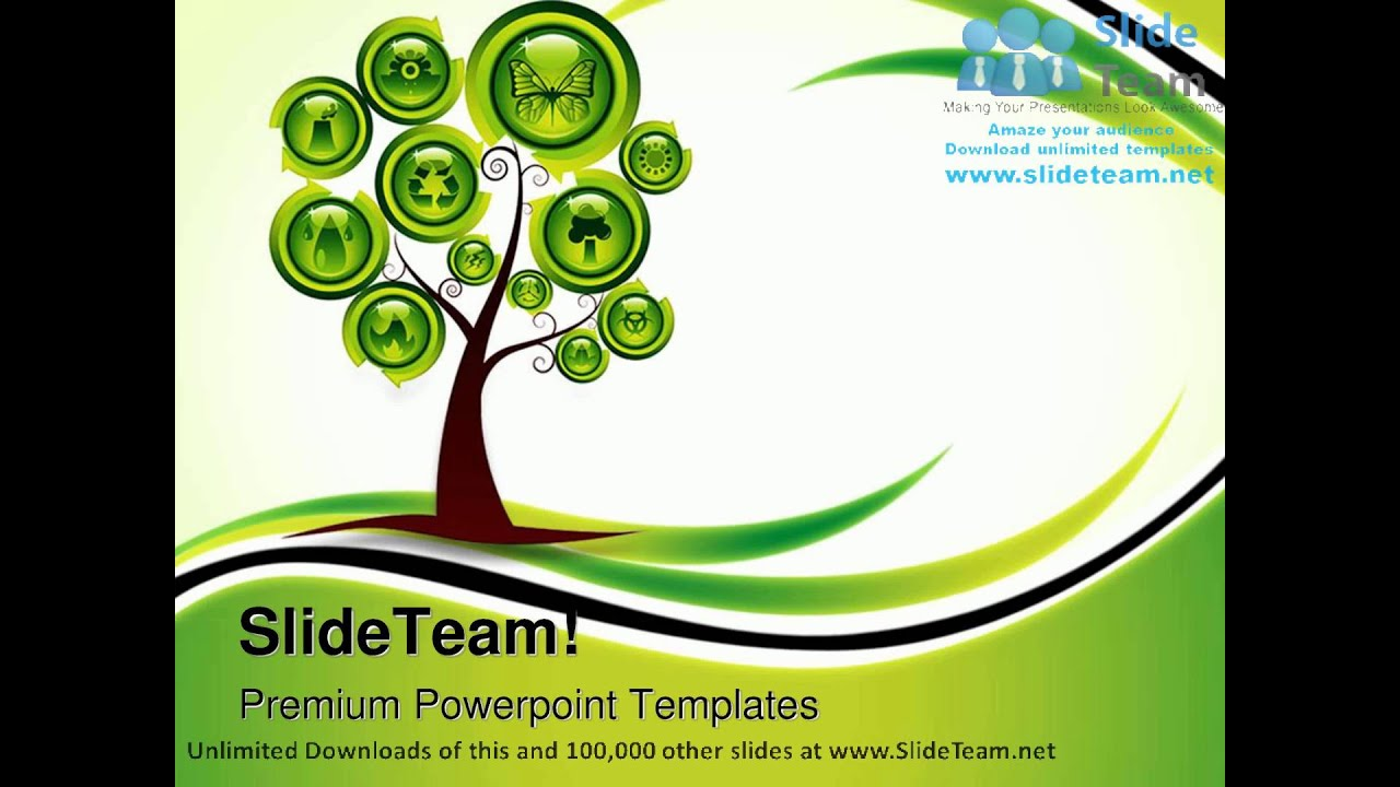 Ecology tree environment powerpoint templates themes and ecology tree environment powerpoint templates themes and backgrounds ppt themes youtube toneelgroepblik Choice Image