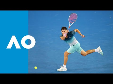 Benoit Paire v Dominic Thiem match highlights (1R) | Australian Open 2019
