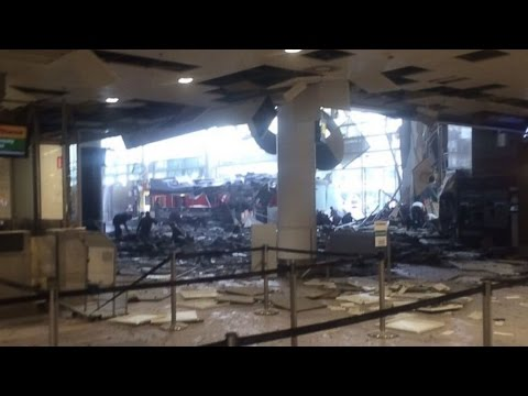 Belgian Terror Attacks | Explosions Reported At Belgian Airport, Subway [BREAKING NEWS]
