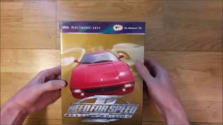 Need for Speed 2 SE Unboxing (PC Big Box)