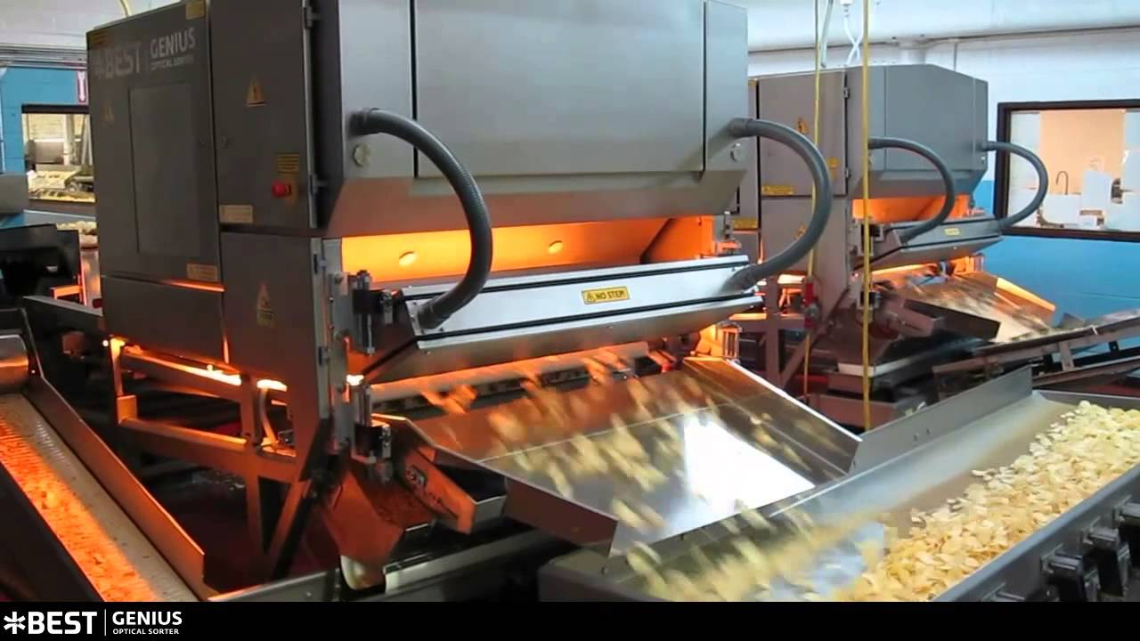Potato chips sorter Genius - TOMRA Sorting