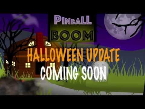 Pinball BOOM Halloween Update
