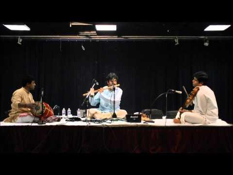 IAACM Presents: Flute Raman Live in Concert - Krishna Nee Begane Baro - Yaman Kalyani - CL 54