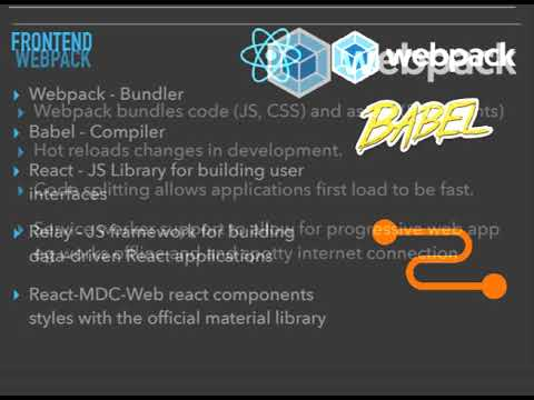 Building single page javascript apps with Django, Graphql, Relay and React!