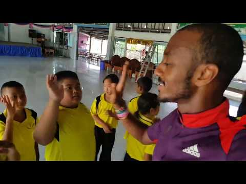 Multi-Sports Coaching Project in Thailand Singburi (KoKo Vlogs South East Asia #3)