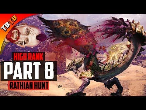 🏹 HIGH RANK Monster Hunter World | Part 8 - HUNTING RATHIAN! | Full Gameplay Walkthrough [PS4 Pro]