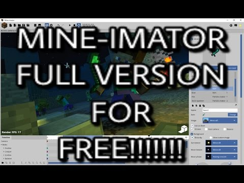 How To Get Mine-Imator Full Version For FREE!!