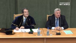 видео: Р.Проди (рус) - Почетный доктор МГИМО