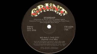 Starship - We Built This City (Special Club Mix) 1985