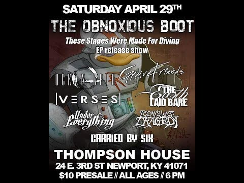 live at the thompson house (newport, kentucky) 4/29/17