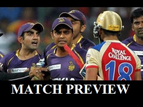 IPL 2017 KKR vs RCB Match Prediction and Predicted Playing ...