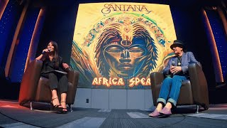 Santana - Live Interview from Mexico City - Africa Speaks