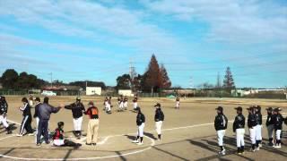 iMovie11で少年野球チーム、大新ジャガーズの納会の様子を映画の予告編...