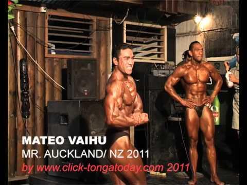 Tonga Bodybuilder- Sitani Tautalanoa(2009 MR SOUTH PACIFIC) & Mateao Vaihu(2011MR. AUCKLAND).mov