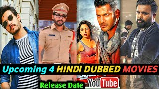 Upcoming 4 Hindi Dubbed Movies On YouTube | TV Release Date |4th July-10th July | Action Mr. Majnu