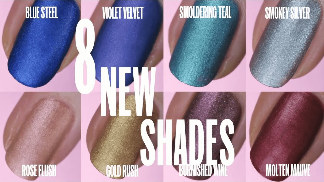 Introducing: NEW Insta-Dri Matte Metallics | Sally Hansen