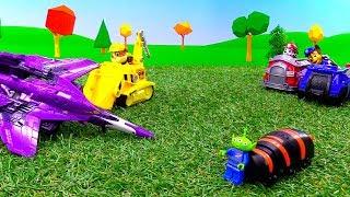 Щенячий Патруль онлайн - Видео про игрушки - Инопланетный гость