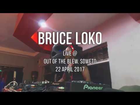 Bruce Loko Live At Out Of The Blew Soweto