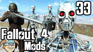 Fallout 4 Mod Review 33 - Enter The Terminator and NCR Veteran Ranger - Boobpocalypse