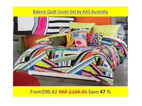 Kas Quilt Cover Sets
