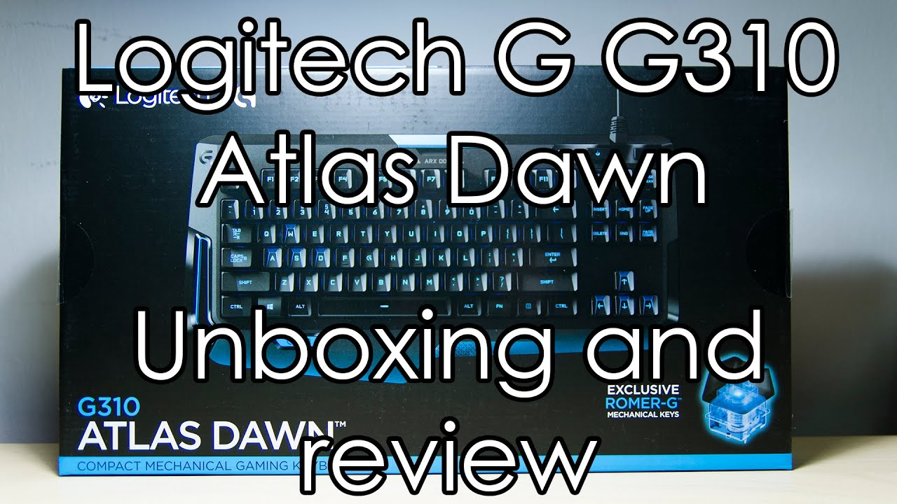 Logitech G G310 Atlas Dawn - Unboxing and review