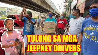 TULONG PARA SA ATING JEEPNEY DRIVERS! (PLEASE WATCH)