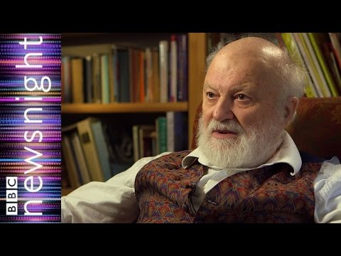 Poet Geoffrey Hill speaks to Stephen Smith - Newsnight