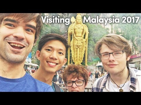 Taking my friends to visit MALAYSIA for the first time | Travel Vlog 2017