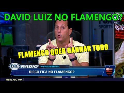 BOMBOU! DAVID LUIZ NO FLAMENGO?