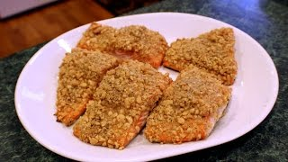 How To Make Nut Crusted Fish!