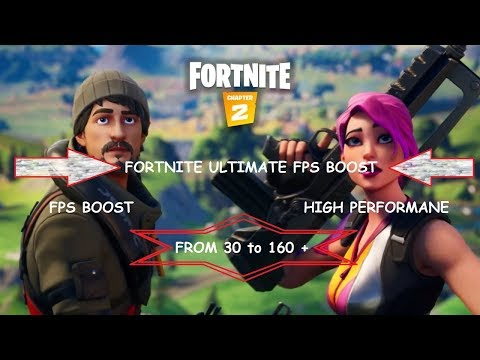 Fortnite chapter 2 FPS Boost * HIGH PERFORMANCE*