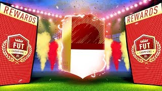 FINALLY A HUGE WALKOUT?! FUT CHAMPS ELITE MONTHLY REWARDS - FIFA 18 ULTIMATE TEAM