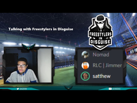 Live interview with Freestylers in Disguise