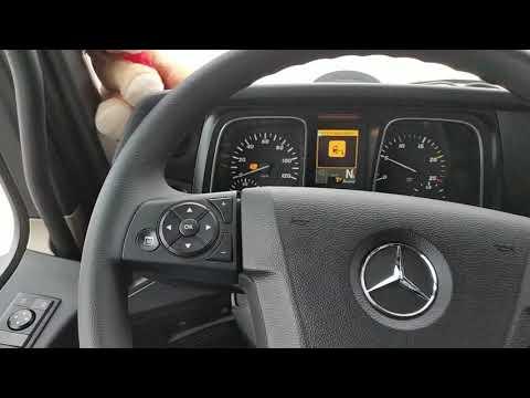 Принимаю новый Mercedes Actros 2019 г.в.  с пробегом в 281 км.