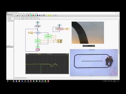видео: Fischertechnik ROBO Pro - ПД-регулятор (Fail)