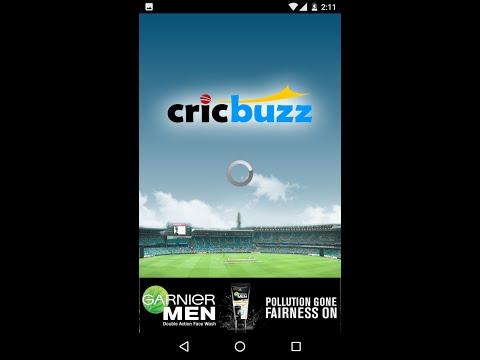 [India vs Australia] Cricbuzz for mobile: Follow live cricket score