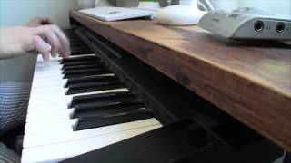 Space Quest Intro Theme on Piano + PC speaker (Space Quest I)