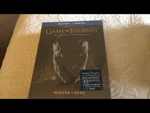 Game Of Thrones Season 7 Blu-Ray Unboxing