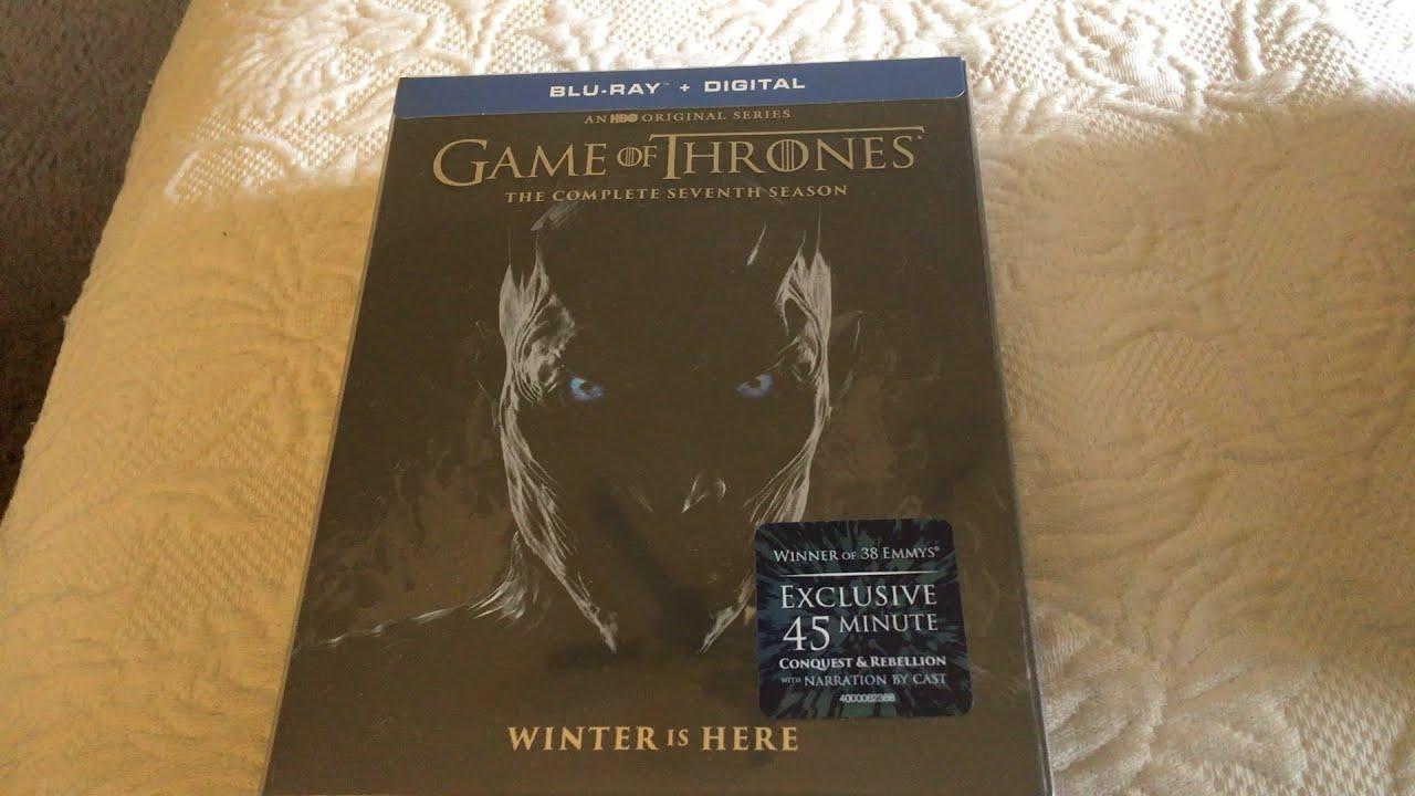 Game Of Thrones Season 7 Blu Ray Unboxing Youtube