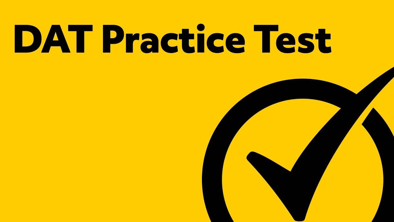 DAT Exam Study Materials (Practice Test)