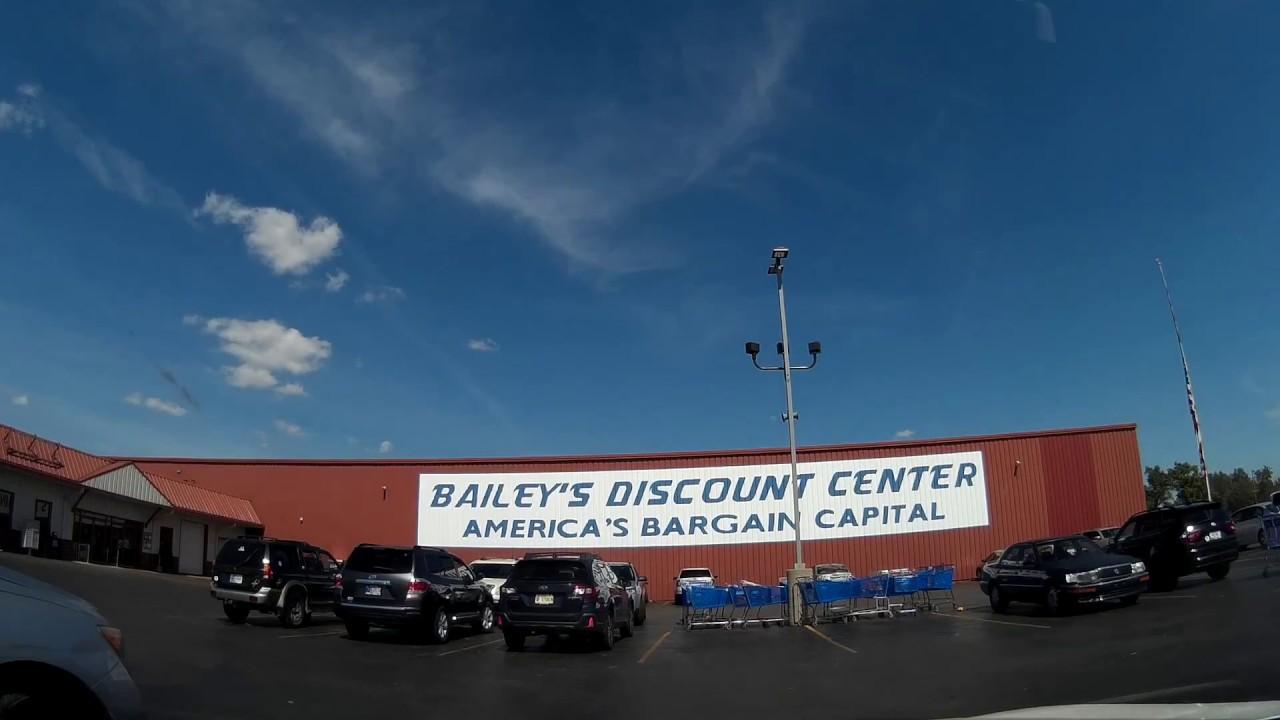 Bailey S Discount Center Youtube