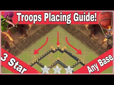 How To FUNNEL TROOPS In BATTLE To 3 STAR Any BASE Easily | Clash Of Clans HINDI