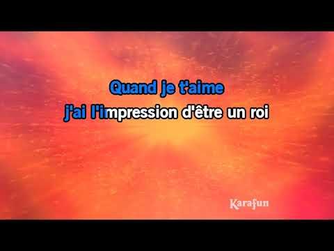 Karaoké Quand je t'aime - Demis Roussos *